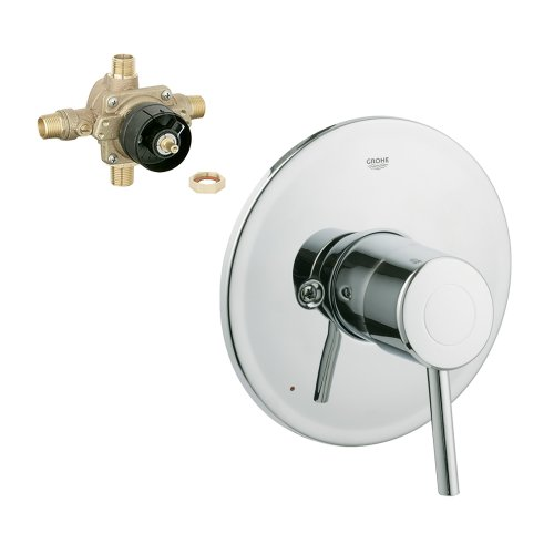 Grohe K19457-35015R-001 Concetto Pressure Balance Trim with Rough-In