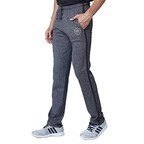 41myumZy1UL. SS500  - WAKE UP COMPETITION Solid Men's Cotton Blend Track Pant