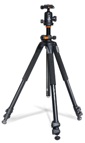 Vanguard Alta Pro 263AB 100 Aluminum Tripod with SBH-100 Ball Head for Sony, Nikon, Canon DSLR Cameras, ()