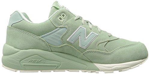 New Balance 580 Hommes Real Leather Sneaker Vert MRT580MC, Grün, *