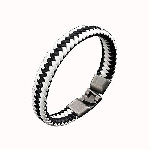 - Bluelans Men Women Faux Leather Braided Bracelet Buckle Bangle Jewelry Wristband BraceletValentine's Day/Wedding/Party/Anniversary/Holiday/Mother's Day/Father's Day/Thanksgiving Day/Birthday Gifts
