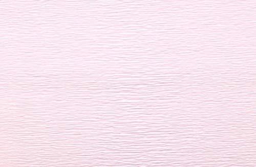 Crepe Paper Roll, Premium Italian Heavy 180 g, 13.3 sqft, Very Light Dusty Pink by Tiffanie Turner