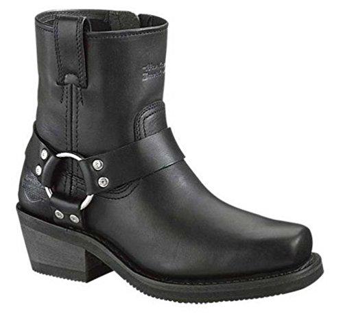 Harley-Davidson Men's El Paso Riding Boot,Black,9 (El Paso Black Mens Boots)