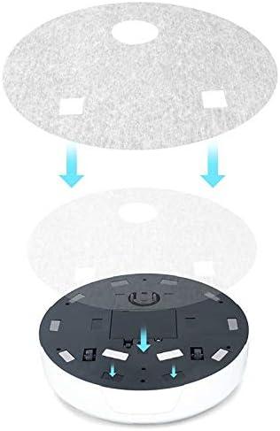 Mdsfe Aspirateurs intelligents pour la Maison Robot de Balayage Ultra-Mince a9tomatique Robot de Nettoyage Domestique pour Personnes âgées - Batterie au Lithium