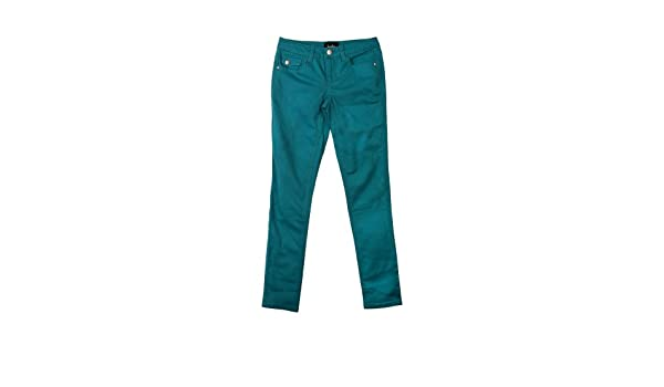 byandby Girl Colored Twill Skinny Pants Teal Girls 7-16