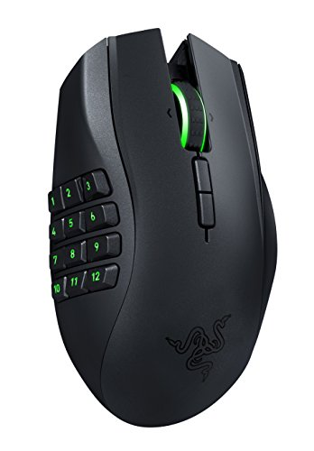 Razer Naga Epic Chroma MMO Gaming Mouse - 19 Buttons - 8,200 - Wireless