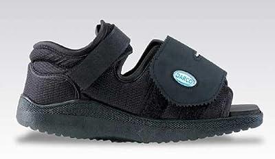 Darco International (n) Darco Med-Surg Shoe Black Square-Toe Women'S Large