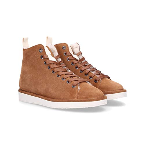 Stoccolmac Sneakers Marrone Top Camoscio Pànchic Donna Hi vHnEwxqI