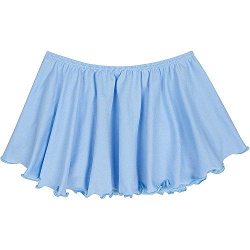girls ballet skirt light blue - 5