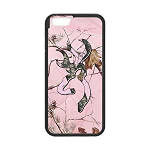 ROBIN YAM Browning Cutter Logo Hard TPU Rubber Coated Phone Case Cover for iPhone 6 4.7