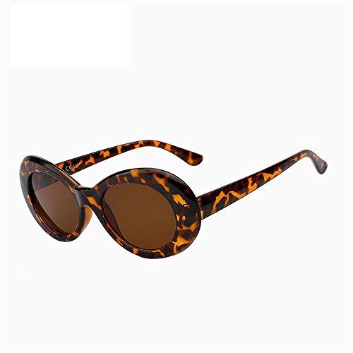 Oval Vintage Retro sol UN UV400 moda protección Gafas sombras viajar ejecutando Eeywear conducción de clásica exteriores de mujer Caminante D Playa SYXSN RqIwtC0cR