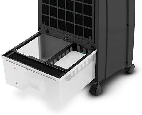 KLARSTEIN CTR-1 Climatizador 4 en 1 portátil 65W (Ventilador, purificador, Ionizador, humidificador, filtrado Aire, Mando a Distancia, sin instalación, Negro): Amazon ...