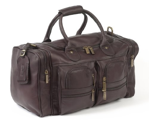 Claire Chase Executive Sport Duffel, Cafe, One Size by ClaireChase