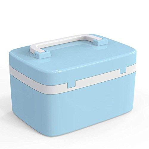 Caja de almacenaje de medicina,cerradura de combinación, caja de almacenaje de medicina, Evertop Caja de auxilios,...