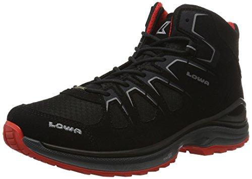 Lowa Men's Innox Evo GTX Qc High Rise Hiking Boots Rot (Schwarz/Rot) ki70QXmN