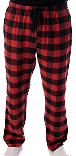 45905-1A-M #followme Mens Flannel Pajama Pants Mens Pajamas (Pants Flannel Checked Pajama)