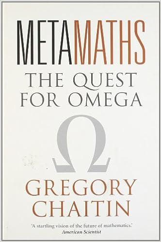 Descargar Libros Gratis Metamaths: The Quest For Omega Directa PDF