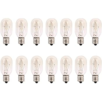 Amazon.com: Pack of 10 Bulbs 15 Watt T6 Tubular 15T6 Light Bulb ...