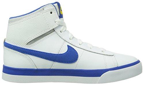 Nike Match Supreme Hi - Zapatillas para niños Weiß (White/Hyper Cobalt-Photo Blue-Pure Platinum)