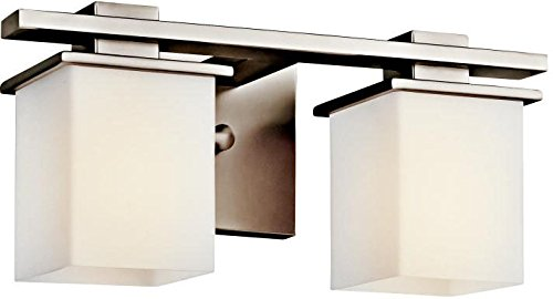 Kichler 45150AP Two Light Bath (Pewter Antique Lighting)