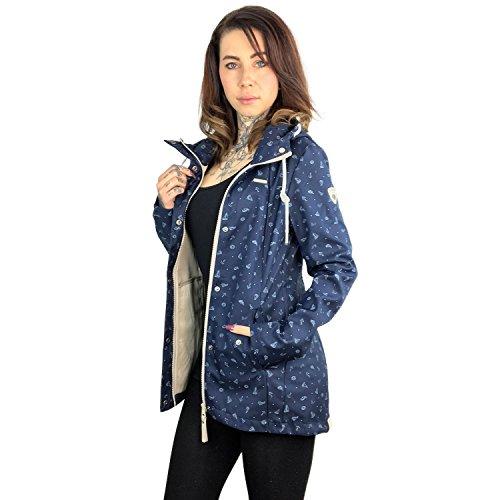 Ragwear marino Chaqueta Mujer para azul gqgF4w