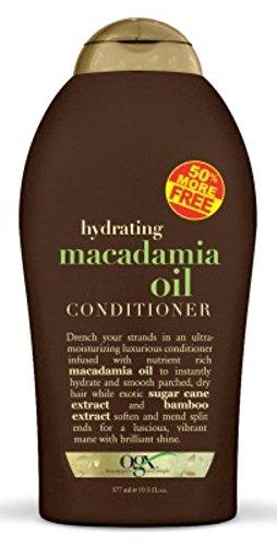 Organix Conditoner Macadamia Oil 19.5oz Bonus(Moisturizing) (2 Pack)