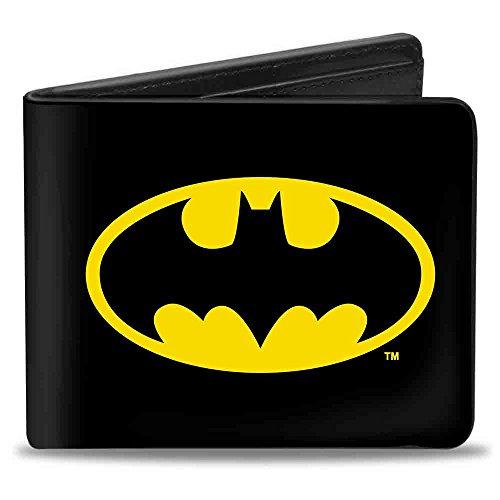 "Buckle-Down Buckle-Down Bifold Wallet Batman Accessory, -Batman, 4.0"" x 3.5"" at Gotham City Store"