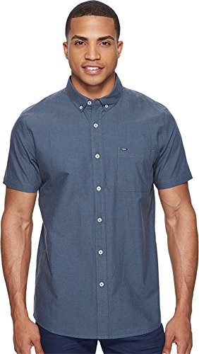 rip-curl-mens-ourtime-button-up-short-sleeve-shirt-large-slate-blue