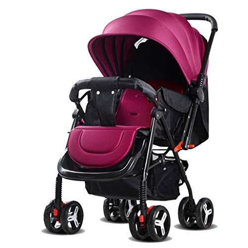 $186.41 Target Infant Car Seats Strollers Baby Pushchair Infant Pram Travel System with 5-Point Safety Harness, Multi-Position Reclining Seat, Large Storage Basket, Suspension Wheels 2019