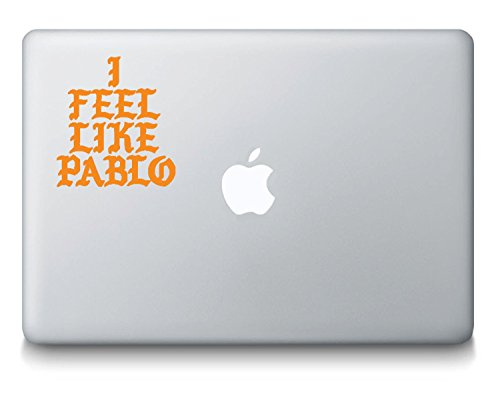Price comparison product image I Feel Like Pablo Logo Kanye West MacBook Laptop Decal - The Life Of Pablo - TLOP - Yeezy Shoes