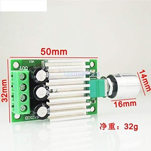 DC 6V 12V 24V 30V 10A Motor Speed Controller PWM Controller Board 50*32mm