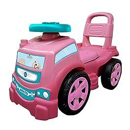 Correpasillos Camión 3×1 Rosa