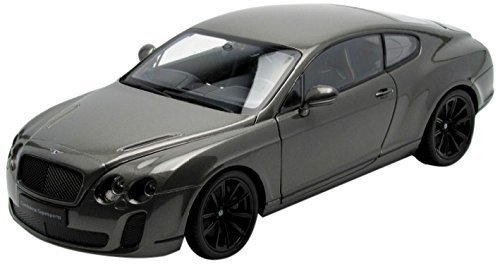 - Bentley Continental Supersports Coupe Grey 1/18 by Welly 18038 by Welly