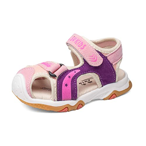 Unisex Boys Girls Sport Water Beach Hiking Sandals Closed-Toe Summer Outdoor Athletic Shoes Toddler//Little Kid