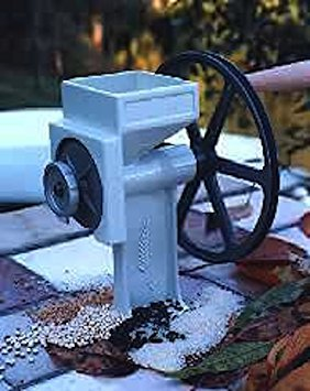 Country Living Grain Mill with Large Corn & Bean Auger (Best Master Electric Grain Mills)