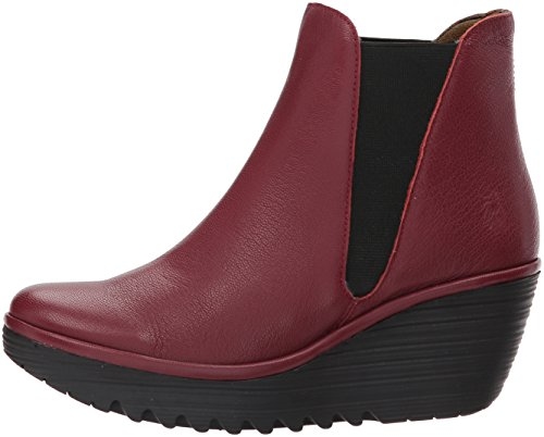 Stivali London cordobared Donna Fly 021 Rosso q5gxSUUp