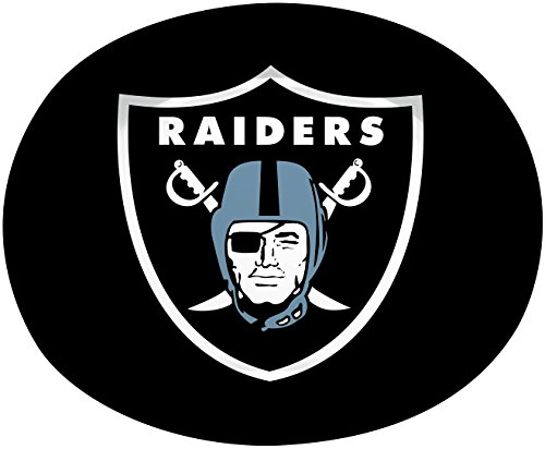 Creative Converting 8 Count Oakland Raiders Paper Oval Platters