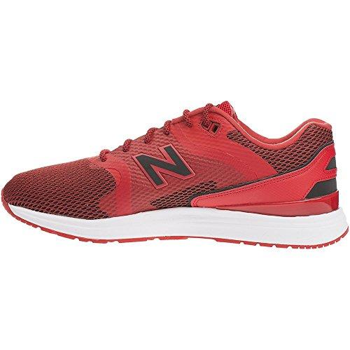 New Balance ML1550CA 2821 rojo - zapatillas deportivas unisex cuero-tela (lifestyle modo de tractos medio/moyen de los hombres/hommes)