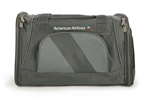 Sherpa American Airlines Duffle Pet Carrier, Medium, Charcoal by Sherpa (Image #3)