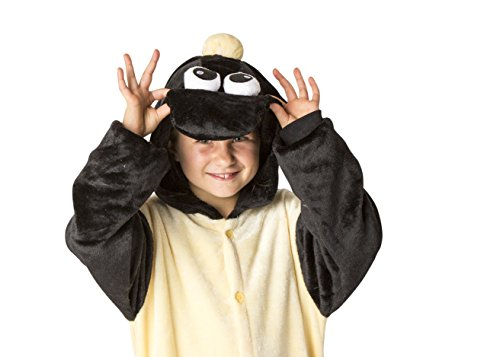Juxy Couture Kids Sheep Onesie Pajamas Kigurumi Costume For Girls and Boys (7-8 yrs)
