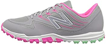 New Balance Women's Nbgw1006 Golf Shoe, Greypink, 9.5 B Us 4