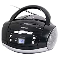 Audio, Philco, 056603147, Preto, Pequeno