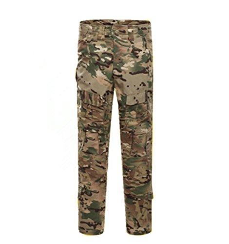 oppsu Mens Paintball Camo Uniform Sets BDU Combat Tactical Uniform Shirt and Pant Set (CP Camo, 40 (Pants) XXX-Large) - Xxx Cp Set
