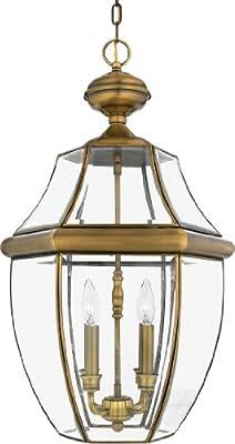 Quoizel Newbury 4-Light Outdoor Hanging Lantern