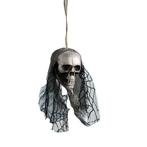 certainPL Halloween Hanging Skull Decorations Indoor/Outdoor, Pirates Corpse