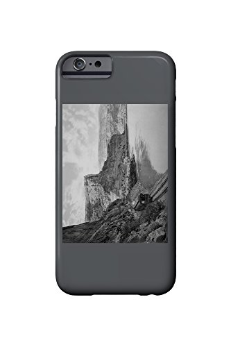 Citadel Walls and the Colorado River Photograph (iPhone 6 Cell Phone Case, Slim Barely - Colorado Citadel