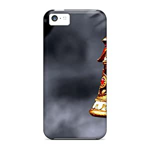 Top Quality Protection Christmas Deoration Case Cover For Iphone 5c