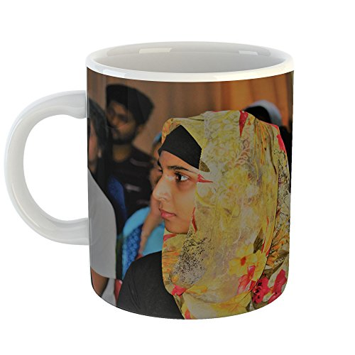 Westlake Art - Beautiful Muslim - 15oz Coffee Cup Mug - Modern Picture Photography Artwork Home Office Birthday Gift - 15 Ounce by Westlake Art