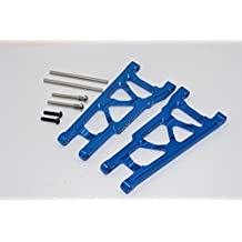 Traxxas Slash 4X4 & Stampede 4X4 VXL Upgrade Parts Aluminum Front/Rear Lower Arm - 1Pr Set Blue