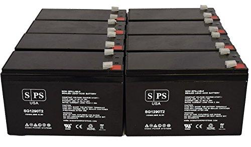 Maruson Technology Power NET-2000 ART 12V 9Ah UPS Replacement Battery (8 Pack) - Maruson Net